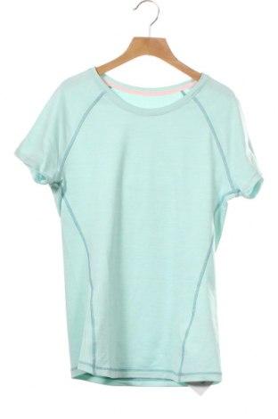 Παιδικό μπλουζάκι H&M Sport, Μέγεθος 15-18y/ 170-176 εκ., Χρώμα Μπλέ, 94% πολυεστέρας, 6% ελαστάνη, Τιμή 3,12€