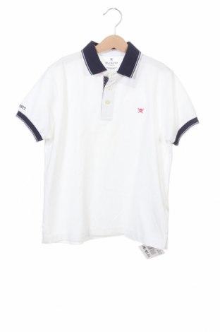 Детска тениска Hackett, Размер 9-10y/ 140-146 см, Цвят Бял, Памук, Цена 18,69лв.