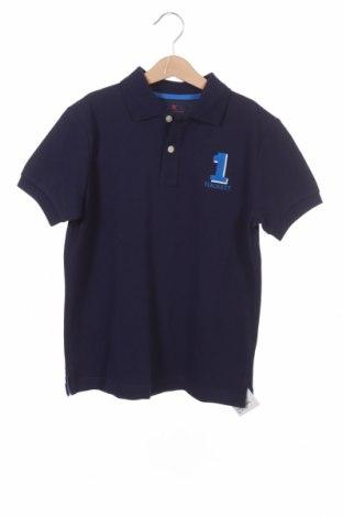Детска тениска Hackett, Размер 9-10y/ 140-146 см, Цвят Син, Памук, Цена 16,31лв.