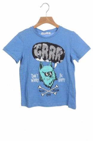 Детска тениска Lft, Размер 4-5y/ 110-116 см, Цвят Син, Памук, Цена 12,00лв.