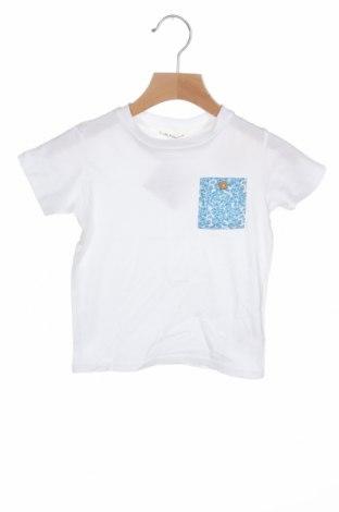 Детска тениска Lola Palacios, Размер 18-24m/ 86-98 см, Цвят Бял, Памук, Цена 7,22лв.