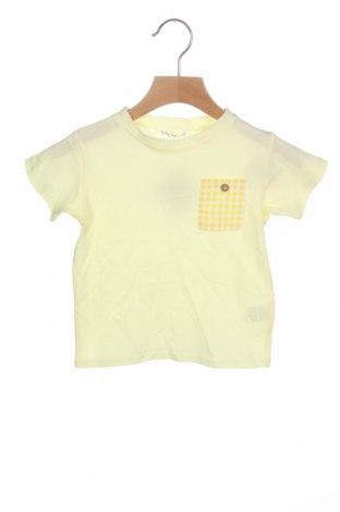 Детска тениска Lola Palacios, Размер 18-24m/ 86-98 см, Цвят Жълт, Памук, Цена 7,06лв.