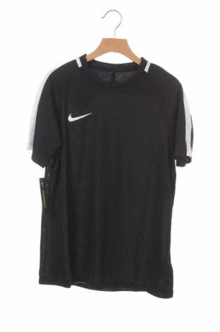Детска тениска Nike, Размер 10-11y/ 146-152 см, Цвят Черен, Полиестер, Цена 14,70лв.