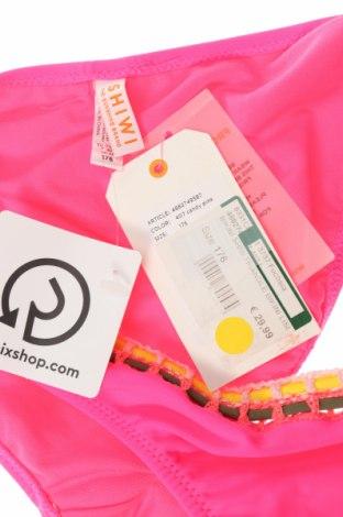 Детски бански Shiwi, Размер 15-18y/ 170-176 см, Цвят Розов, 80% полиамид, 20% еластан, Цена 6,43лв.