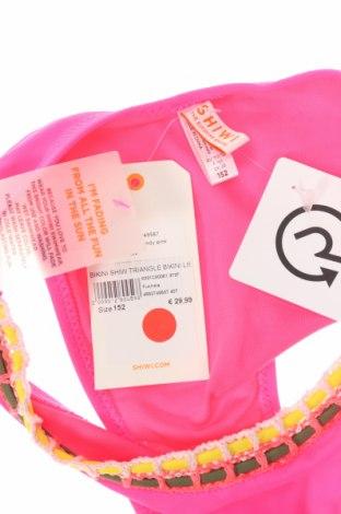 Детски бански Shiwi, Размер 11-12y/ 152-158 см, Цвят Розов, 80% полиамид, 20% еластан, Цена 6,43лв.