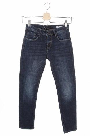 Blugi pentru copii Antony Morato, Mărime 10-11y/ 146-152 cm, Culoare Albastru, 98% bumbac, 2% elastan, Preț 97,70 Lei
