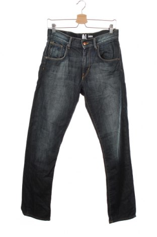 Dziecięce jeansy H&M, Rozmiar 14-15y/ 168-170 cm, Kolor Niebieski, Bawełna, Cena 44,10zł