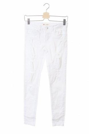 Dětské džíny  Levi's, Velikost 11-12y/ 152-158 cm, Barva Bílá, 98% bavlna, 2% elastan, Cena  363,00Kč