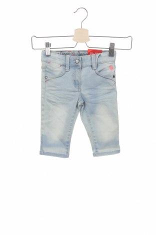 Dětské džíny  S.Oliver, Velikost 2-3y/ 98-104 cm, Barva Modrá, 78% bavlna, 20% polyester, 2% elastan, Cena  250,00Kč
