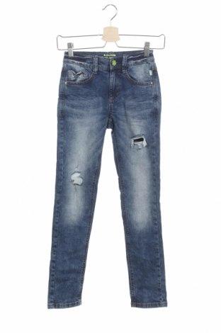 Детски дънки S.Oliver, Размер 10-11y/ 146-152 см, Цвят Син, 99% памук, 1% еластан, Цена 20,70лв.