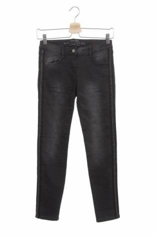 Dziecięce jeansy S.Oliver, Rozmiar 10-11y/ 146-152 cm, Kolor Szary, 75% bawełna, 23% poliester, 2% elastyna, Cena 54,45zł