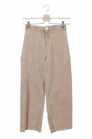 Dětské džíny  Zara, Velikost 13-14y/ 164-168 cm, Barva Béžová, 90% bavlna, 8% polyester, 2% elastan, Cena  277,00Kč