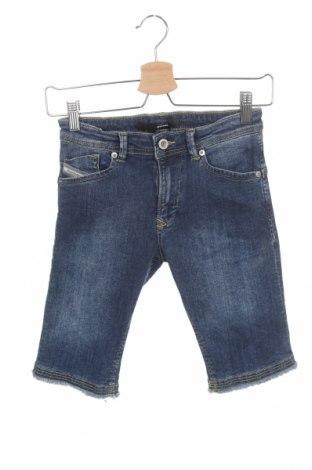 Pantaloni scurți pentru copii Diesel, Mărime 6-7y/ 122-128 cm, Culoare Albastru, 98% bumbac, 2% elastan, Preț 367,60 Lei