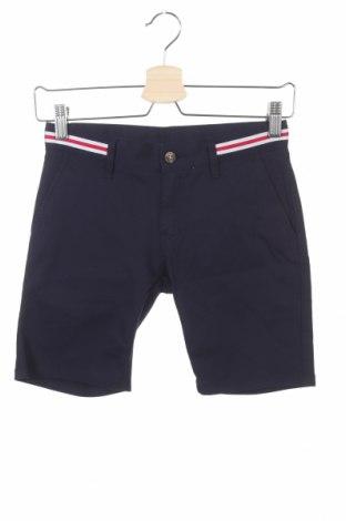 Детски къс панталон Hackett, Размер 9-10y/ 140-146 см, Цвят Син, 98% памук, 2% еластан, Цена 59,50лв.