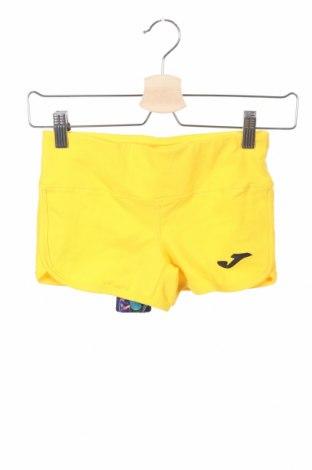 Pantaloni scurți pentru copii Joma, Mărime 12-13y/ 158-164 cm, Culoare Galben, 90% bumbac, 10% elastan, Preț 28,53 Lei