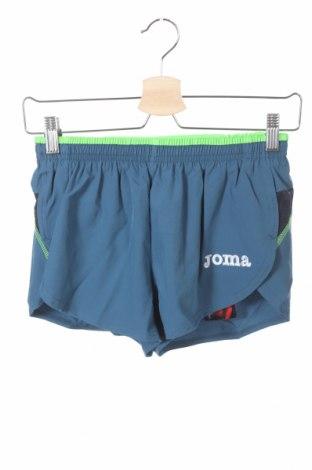 Pantaloni scurți pentru copii Joma, Mărime 11-12y/ 152-158 cm, Culoare Albastru, 95% poliester, 5% elastan, Preț 26,93 Lei