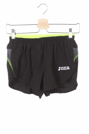 Pantaloni scurți pentru copii Joma, Mărime 11-12y/ 152-158 cm, Culoare Negru, 95% poliester, 5% elastan, Preț 29,94 Lei