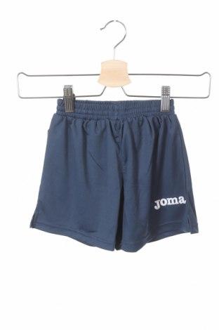 Pantaloni scurți pentru copii Joma, Mărime 2-3y/ 98-104 cm, Culoare Albastru, Poliester, Preț 18,79 Lei