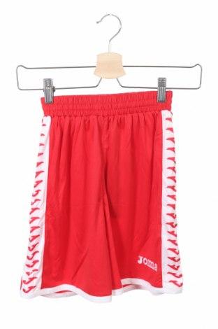 Pantaloni scurți pentru copii Joma, Mărime 6-7y/ 122-128 cm, Culoare Roșu, Poliester, Preț 35,00 Lei