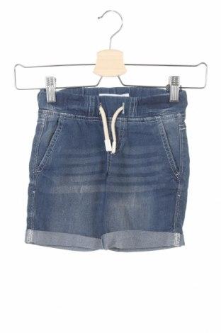 Pantaloni scurți pentru copii Lefties, Mărime 3-4y/ 104-110 cm, Culoare Albastru, 80% bumbac, 18% poliester, 2% elastan, Preț 39,11 Lei
