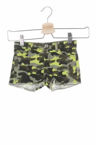 Детски къс панталон Lefties, Размер 3-4y/ 104-110 см, Цвят Зелен, 98% памук, 2% еластан, Цена 13,05лв.