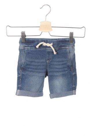 Pantaloni scurți pentru copii Lefties, Mărime 3-4y/ 104-110 cm, Culoare Albastru, 80% bumbac, 18% poliester, 2% elastan, Preț 35,29 Lei