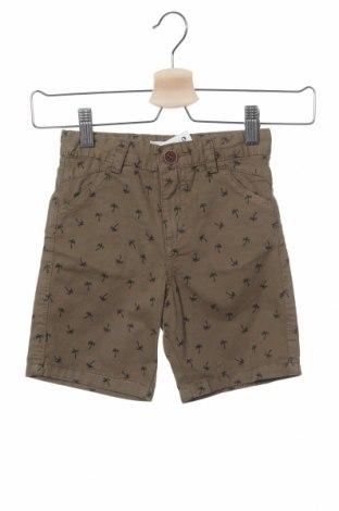 Pantaloni scurți pentru copii Lefties, Mărime 2-3y/ 98-104 cm, Culoare Verde, Bumbac, Preț 40,06 Lei