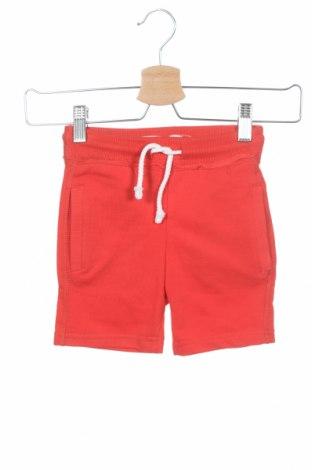 Pantaloni scurți pentru copii Lefties, Mărime 2-3y/ 98-104 cm, Culoare Roșu, 55% bumbac, 45% poliester, Preț 32,91 Lei