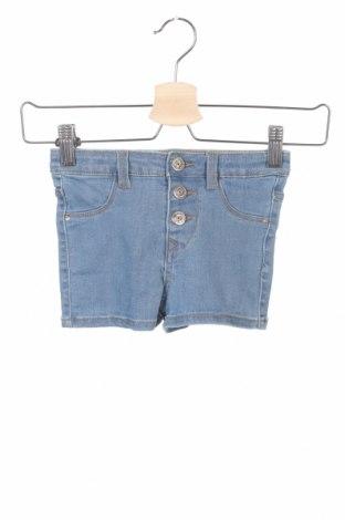 Pantaloni scurți pentru copii Lefties, Mărime 5-6y/ 116-122 cm, Culoare Albastru, 98% bumbac, 2% elastan, Preț 30,91 Lei