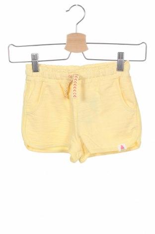 Детски къс панталон Lefties, Размер 5-6y/ 116-122 см, Цвят Жълт, 80% памук, 20% полиестер, Цена 12,48лв.