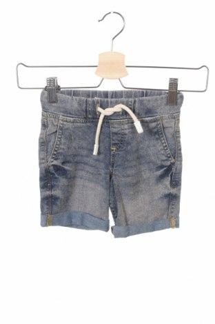 Pantaloni scurți pentru copii Lefties, Mărime 3-4y/ 104-110 cm, Culoare Albastru, 80% bumbac, 18% poliester, 2% elastan, Preț 34,89 Lei