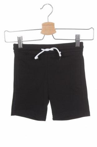 Pantaloni scurți pentru copii Lefties, Mărime 3-4y/ 104-110 cm, Culoare Negru, 55% bumbac, 45% poliester, Preț 36,11 Lei