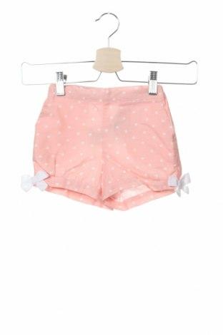 Pantaloni scurți pentru copii Lola Palacios, Mărime 18-24m/ 86-98 cm, Culoare Roz, 55% in, 45% bumbac, Preț 27,50 Lei