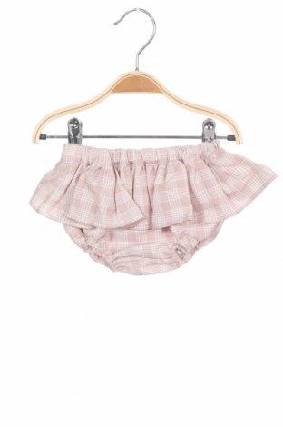 Pantaloni scurți pentru copii Lola Palacios, Mărime 9-12m/ 74-80 cm, Culoare Roz, 60% bumbac, 40% poliester, Preț 18,79 Lei