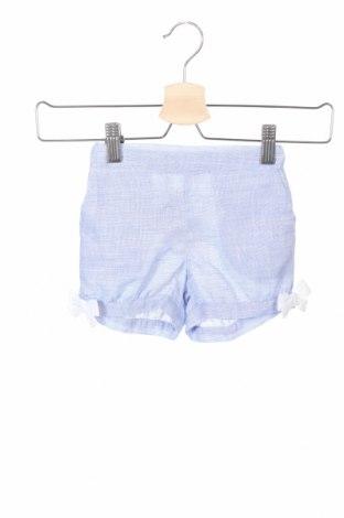 Pantaloni scurți pentru copii Lola Palacios, Mărime 18-24m/ 86-98 cm, Culoare Albastru, Bumbac, Preț 17,57 Lei