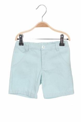 Pantaloni scurți pentru copii Lola Palacios, Mărime 18-24m/ 86-98 cm, Culoare Verde, Bumbac, Preț 26,74 Lei
