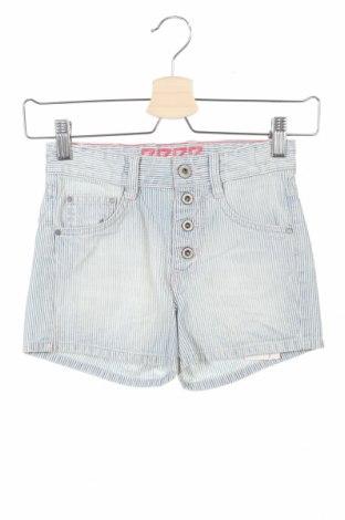 Pantaloni scurți pentru copii Pepe Jeans, Mărime 7-8y/ 128-134 cm, Culoare Albastru, Bumbac, Preț 55,40 Lei