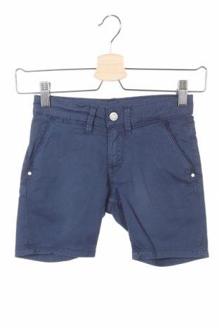 Pantaloni scurți pentru copii Pepe Jeans, Mărime 5-6y/ 116-122 cm, Culoare Albastru, 98% bumbac, 2% elastan, Preț 54,47 Lei