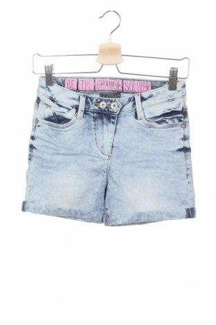 Детски къс панталон S.Oliver, Размер 15-18y/ 170-176 см, Цвят Син, 66% памук, 29% полиестер, 3% вискоза, 2% еластан, Цена 12,25лв.