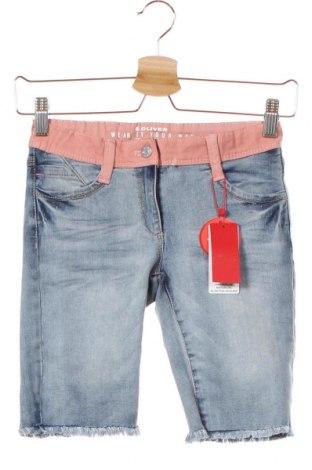 Dětské krátké kalhoty  S.Oliver, Velikost 10-11y/ 146-152 cm, Barva Modrá, 70% bavlna, 25% polyester, 3% viskóza, 2% elastan, Cena  355,00Kč
