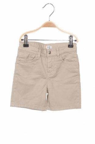 Детски къс панталон Steiff, Размер 4-5y/ 110-116 см, Цвят Бежов, 97% памук, 3% еластан, Цена 12,25лв.