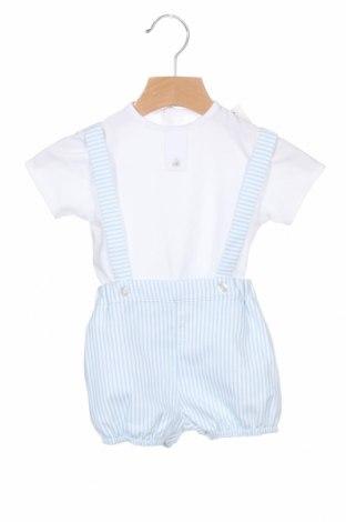 Dětský komplet  Lola Palacios, Velikost 12-18m/ 80-86 cm, Barva Modrá, Bavlna, polyester, elastan, Cena  330,00Kč