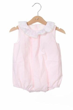 Детски гащеризон Lola Palacios, Размер 12-18m/ 80-86 см, Цвят Розов, 60% памук, 40% полиестер, Цена 12,25лв.