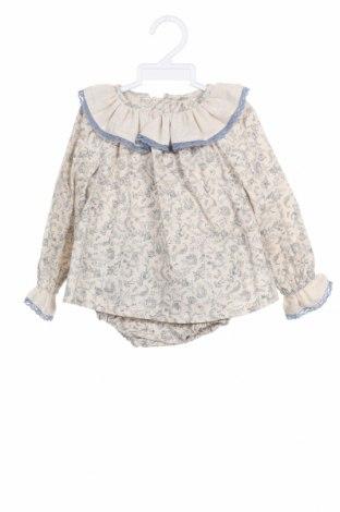 Dětský komplet  Lola Palacios, Velikost 9-12m/ 74-80 cm, Barva Béžová, 99% bavlna, 1% kovové nitě, Cena  306,00Kč
