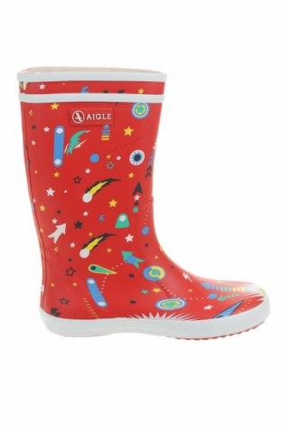 Детски обувки Aigle, Размер 33, Цвят Червен, Полиестер, Цена 47,70лв.