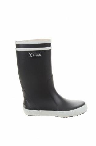 Детски обувки Aigle, Размер 30, Цвят Черен, Полиуретан, Цена 41,72лв.