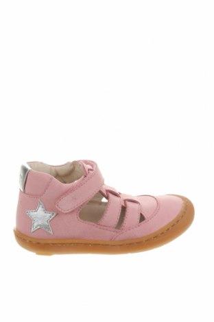 Детски обувки Bo-Bell, Размер 22, Цвят Розов, Естествена кожа, Цена 19,75лв.
