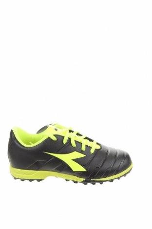 Детски обувки Diadora, Размер 34, Цвят Черен, Еко кожа, Цена 49,05лв.