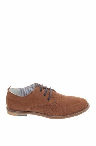 Детски обувки Friboo, Размер 39, Цвят Кафяв, Естествен велур, Цена 33,66лв.