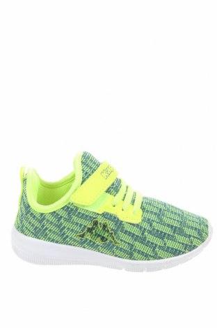 Детски обувки Kappa, Размер 26, Цвят Зелен, Текстил, еко кожа, Цена 30,02лв.